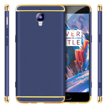 GKK Luxury Electroplated Ultra Slim Shield Phone Case for OnePlus 3 A3000 Three Hard One Plus Fundas OnePlus3 Coque Cover