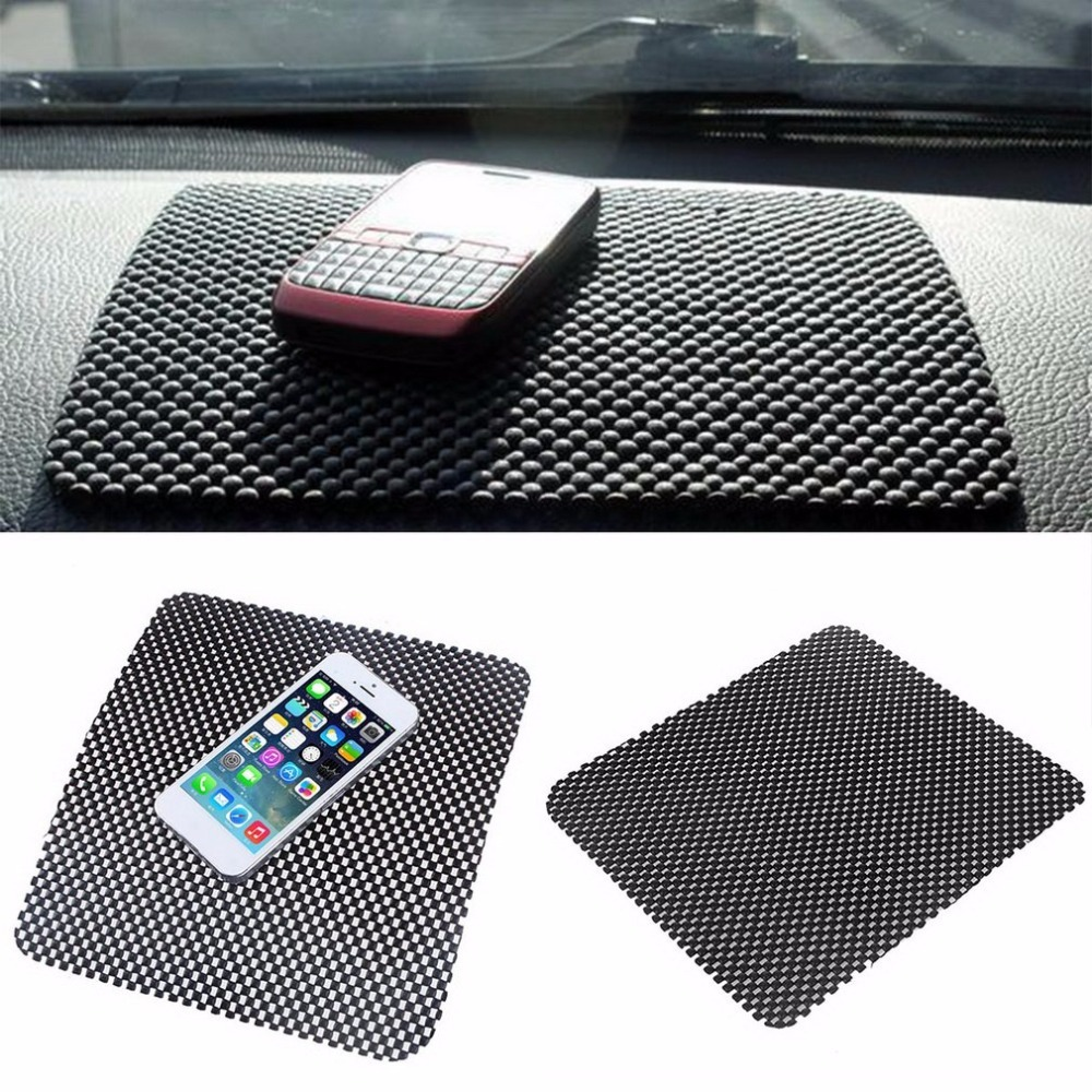 Anti Slip Mat In-car Accessories Powerful Silicone Non Slip Pad Car Sticker Dash Mat Dashboard Pad For Phone GPS Car Styling A0 creative lute style silicone anti slip pad yellow