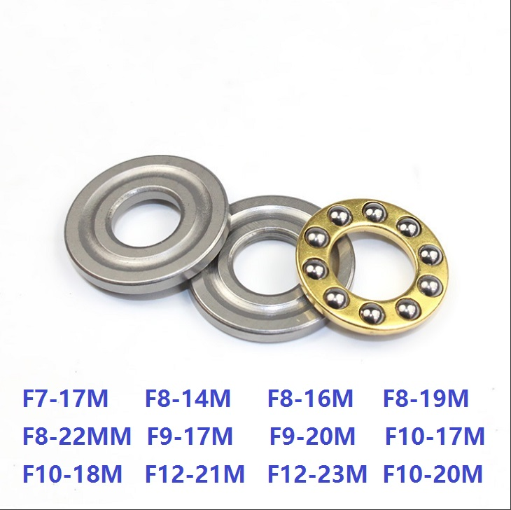 100pcs Axial Ball Plane Thrust Bearing F7 17M F8 14M F8 16M F8 19M F8 22M