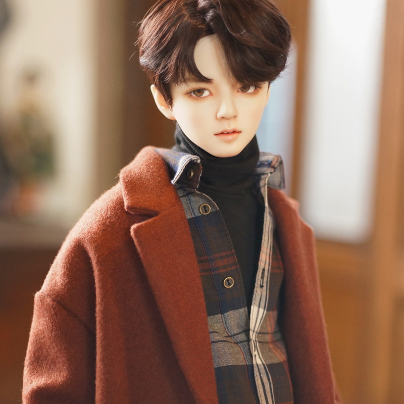DistantMemory Jaeii 1/3 BJD Doll Fashion Korean Male Idol BTS Jimin Style Ball Jointed Dolls Resin Gifts Toy for Girls 60cm