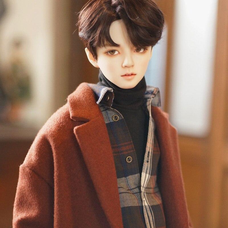 DistantMemory Jaeii Hwayoung Sunho1/3 Boneca BJD Moda Masculina Coreano Ídolo BTS Jimin Estilo Bonecos Articulados Bola de Resina