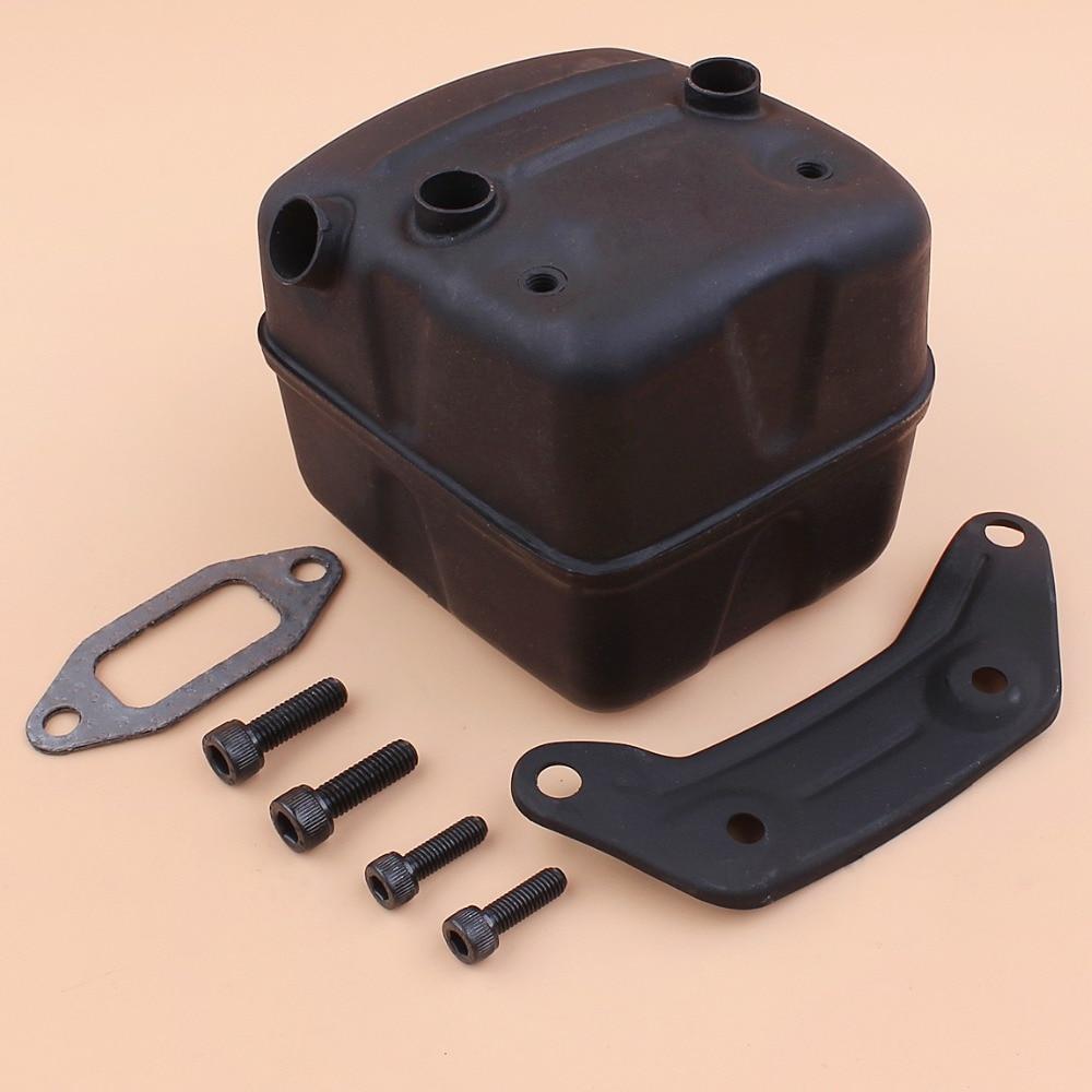 Exhaust Muffler Bracket Gasket Kit For HUSQVARNA 365 371 372 XP 385 390 XP Chainsaw Parts