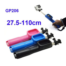 Free Shipping!!Accessories Remote Pole Camera Tripod Selfie Stick Monopod + Screw and Lanyard For Gopro Hero GITUP SJCAM