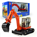 KAIDIWEI 1:50 Scale Engineering Vehicle Diecast Small Crawler Hydraulic Excavator  Car Alloy Model Kids Toy