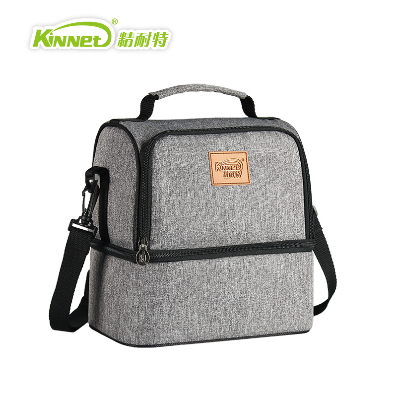 kinnet thermal bag breast milk package double layers insulated cooler bag red oxford shoulder bag for - Insulated Cooler Bags