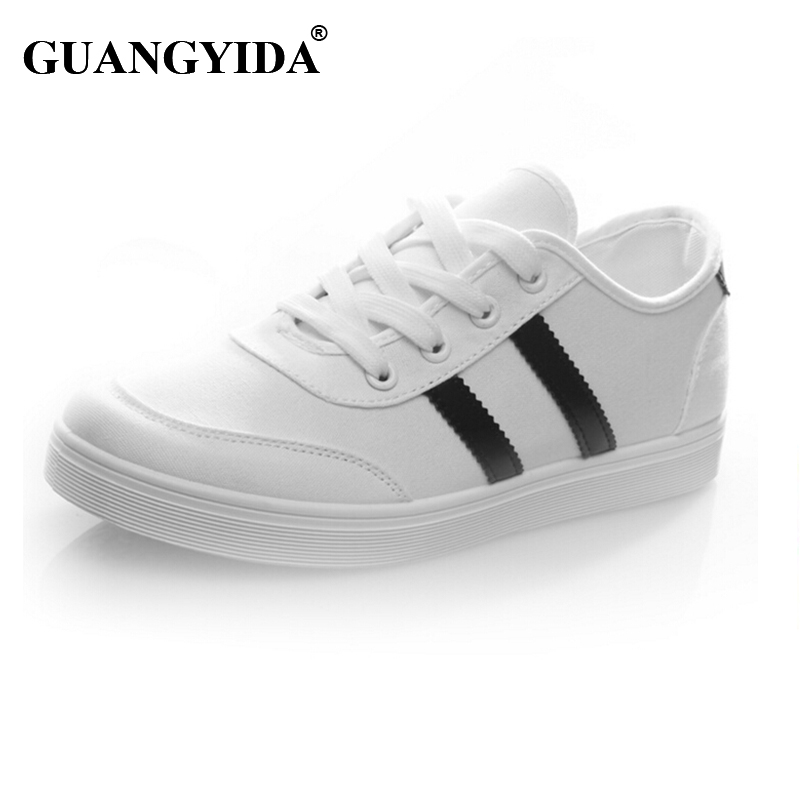 White Canvas Tennis Shoe Promotion-Shop for Promotional White ...