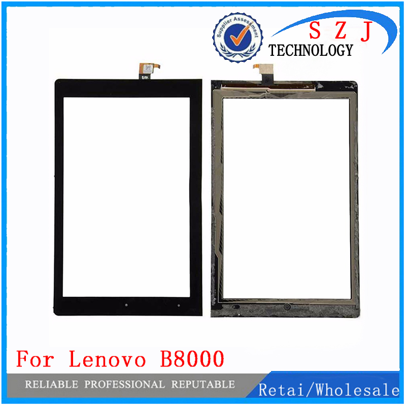 New 10.1 Inch Parts For Lenovo Yoga Tablet 10 B8000 B8000h Touch Screen Digitizer Glass Sensor Repartment Free shipping