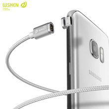 Original WSKEN Magnetic 2A MINI1 Micro USB IOS Charging Cable For iPhone 6 6plus iPad For Samsung Magnetic 2 in1 Cable CL595