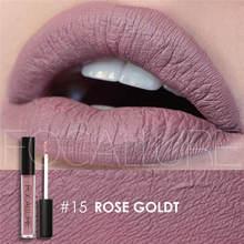 Focallure $1 OFF PER  $2 25 colors Lip gloss Lip Tint Cosmetic Lipstick Lipgloss Pigment Sexy Matte Liquid Lipstick Nude Makeup