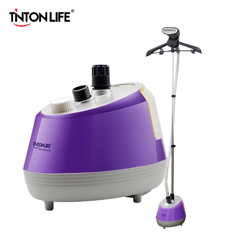 Vaporizador de ropa ajustable de hierro vaporizador TINTON LIFE 1800 W L tanque de s agua 35 S vapor rápido