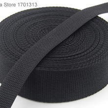1 м крепкая черная лента для оборудования 2 см до 5 см ширина полипропиленовая лента для палаток аксессуары для швейной сумки ремень