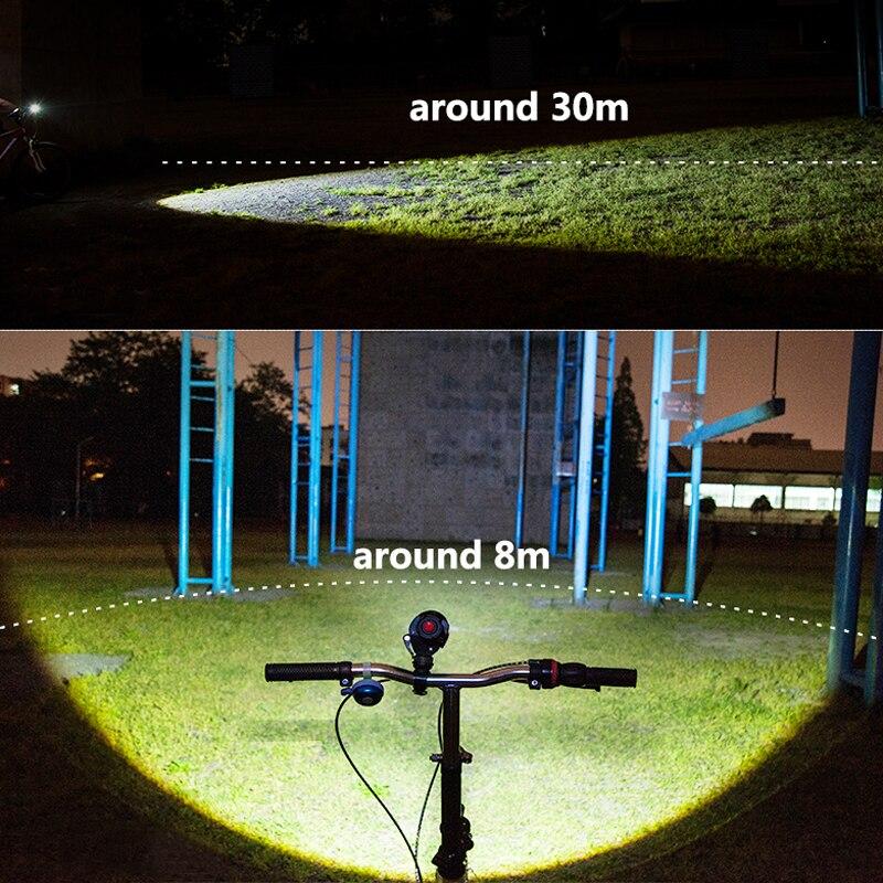 SHENYU Lampe de poche à LED 18650 26650 Torche Lampe de poche - Éclairage portable - Photo 6