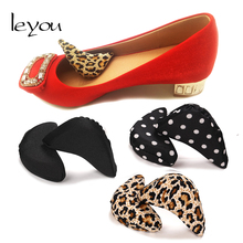 Leyou Sponge Soft Forefoot Toe Plug Adjust Size For Shoes Adjustment Half Cushion Anti-pain Comfortable Tools