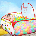 Foldable Kids Play Game Ball Pit Polka-Dots Play fencing for Children Indoor Tent Ocean Ball Pool Baby Educational Toy Playpen
