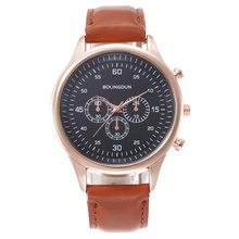 Luxury Brand Men's Stainless Steel Casual Fashion Business Quartz Watch Rose Gold And Silver Men's Watch Style Men's Watch valia business style silver case men quartz watch