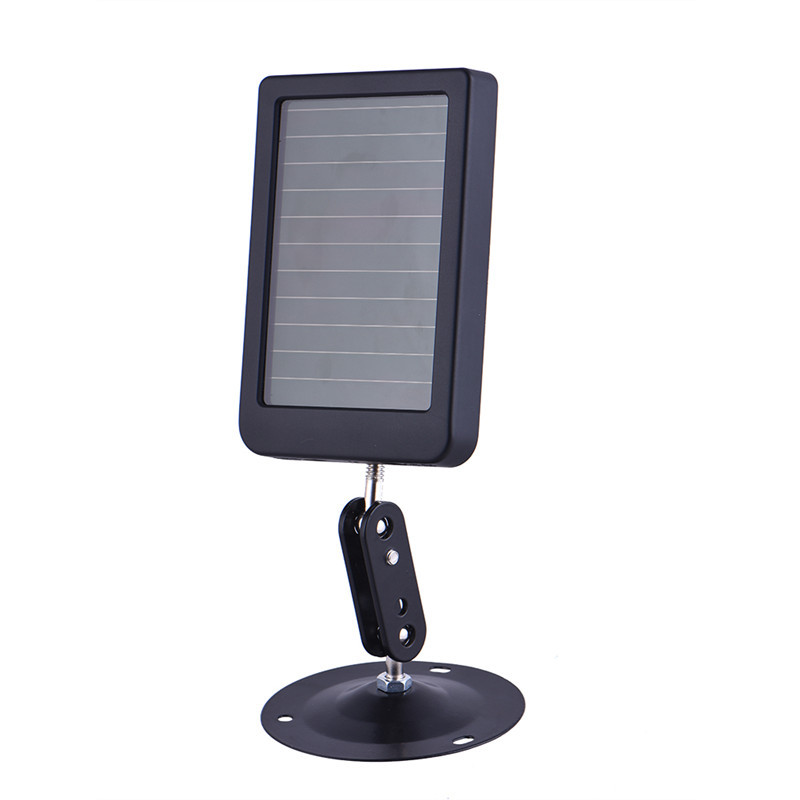 Suntek 1500mAH solar battery solar panel external solar charger for wild IR Infrared forest thermal Hunting Camera HC300 HC300M