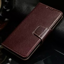 Genuine Leather Wallet Cases For Samsung Galaxy S6 G9200 Luxury Business Style Flip Cover For Galaxy S6 Case with Card Slots