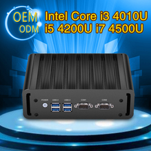 XCY мини-ПК Core i3 40 10 U i5 4200U я 7 4500U Windows 7 8 10 Linux Micro Desktop HDMI WI-FI двойной com Dual LAN неттоп pc