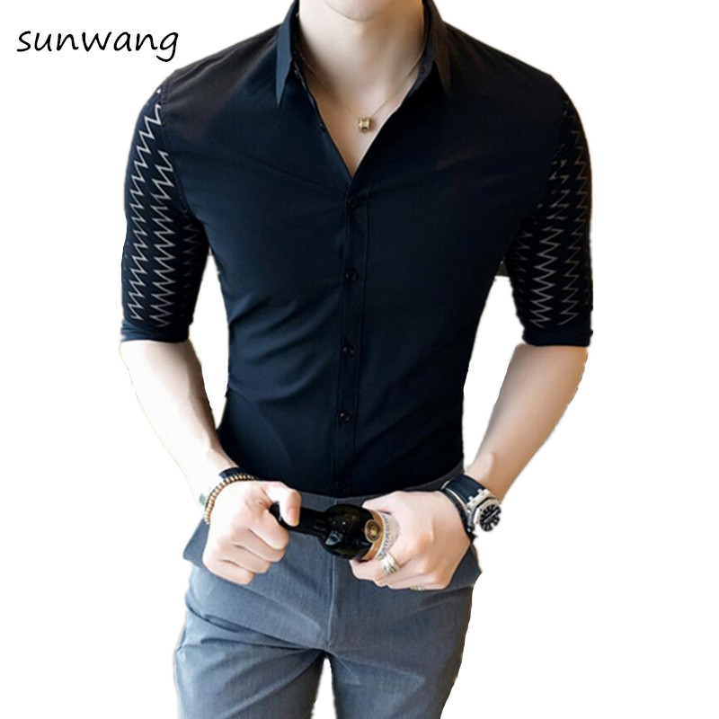 Compare Prices on Mens Short Sleeved Dress Shirts- Online Shopping ...
