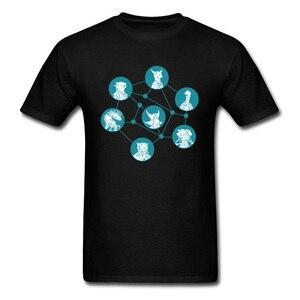 Men T-shirts Casual Shirt Tops & Tees Stellaris players Lovers Day Brand New University Sleeve Pure Cotton Sharingan Eye O-Neck