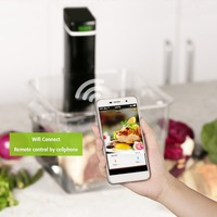 Razorri RZ 09 Slow Cookers Wi Fi App Setting Sous Vide Precision Cooker Cooking Machine Immersion Circulator Recipes 220V 240V
