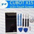 Cubot x15 pantalla táctil + lcd pantalla reemplazo de cristal del panel digitalizador original para cubot x15 mtk6735a 1920x1080 5.5 ''-blanco
