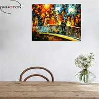 OKHOTCN Framed DIY Framless Wall Pictures Oil Painting By Numbers Digital DIY Painting On Canvas By