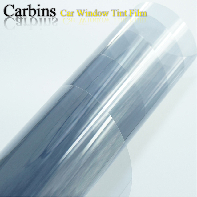 Carbins Window Tint Film Smoke Gray Color For Car Tinting And Side Windshield Solar Protection 0 5 3m