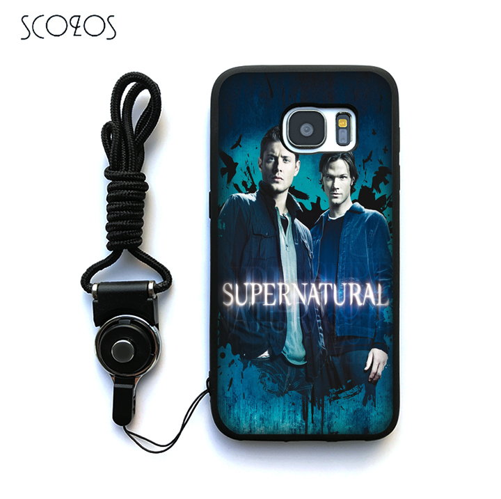 SCOZOS Supernatural Dean Sam Winchester (1) Case Cover For Samsung Galaxy S6 S7 S7 edge S8 S8 Plus J3 J5 J7 A3 A5 A7 2016 Note 8
