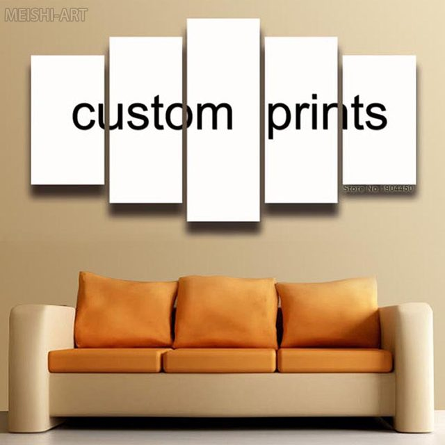5 Panels Custom Prints Canvas Painting Wall Art Living Room Home Decor Print Poster Framed Supplier Only For Whole