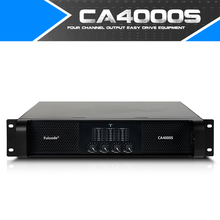 Fuluode Professional Pure Rear Power Amplifier Ultra High Power One Drag Four 4Channel Stage Performance CA4000S Support OEM