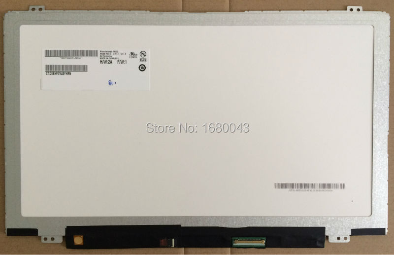 ФОТО Free Shipping B140XTT01.2 B140XTT01 With TOUCH Digitizer LED Display Laptop Screen 40pins For DELL