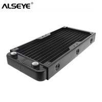 ALSEYE Water Cooler Radiator G1/4 DIY Water Cooling 240mm Aluminum heatsink for CPU / VGA Gaming PC Accessories