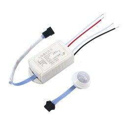 Kebidumei AP nuevo 220 V IR módulo infrarrojo cuerpo Sensor luz inteligente interruptor de detección de movimiento