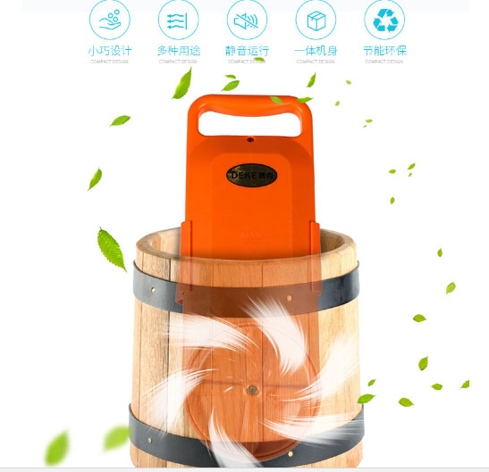 Student Dormitory Laundry Artifact Portable Small Mini Handy Washing Machine Bucket Trip 150W Extended Power Cord Anti-Wind