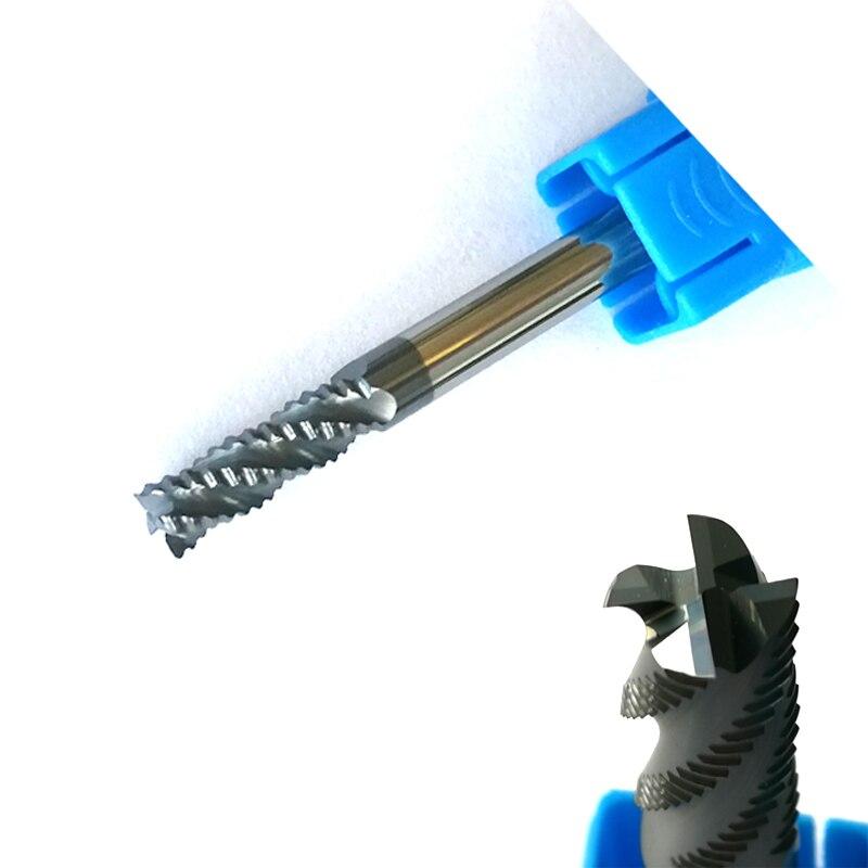 4mm hrc45 D4   11   D4   50 4 flautas desbaste Molino de extremo espiral  Herramientas cnc endmills router los pedacitos 7dd9d7118dd