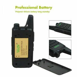 Image 5 - 4 pces wln Kd C1 mini walkie talkie portátil silm rádio sem fio handheld kdc1 c2 rádio em dois sentidos transceptor hf ham estação de rádio