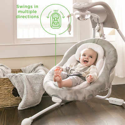 Moonlight Baby Sleeper Baby Swing Electric Cradle Rocking Chair