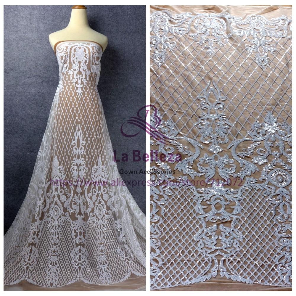 Wedding Gown Fabrics Guide: Aliexpress.com : Buy La Belleza White/red/gree/chamgane