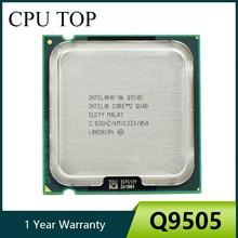 Четырехъядерный процессор Intel Core 2 Quad Q9505, 2,83 ГГц, 1333 МГц, процессор LGA 775