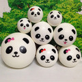wholesale 60pcs/lot 4cm 7cm 10cm kawaii soft scented squishy jumbo panda squeeze bun toy phone keys bags charm squishies bread