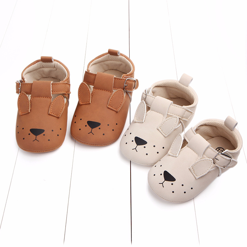 Baby First Walkers Matte leather Shoes for Baby Girl Boy Cartoon Animal Newborn Slippers Footwear Booties Kids Gift Child Shoes (2)