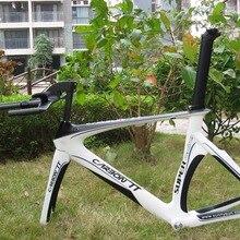 Новое поступление!! Naturefly углеродный Триатлон рама велосипеда+ TT штанга белый/черный