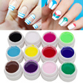 Vrenmol 1pcs Painting Nail Gel Polish Nail Art Paint Drawn Glitter 12 Acrylic Colorful Bio Gel Vernis Semi Permanent