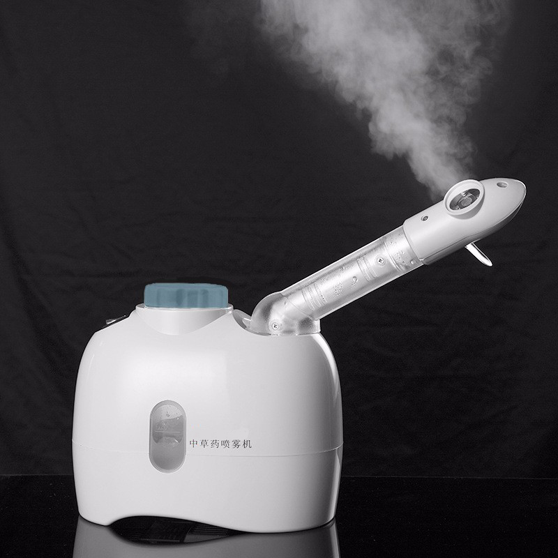 220V Facial Steamer Machine Herbal Aroma steamer Home Beauty Skin Vaporizer help Face Relax massage Moisturizing Exfoliating