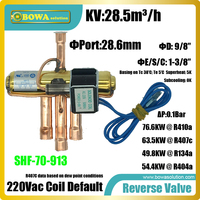 67.6KW (R410a) הפוך שסתומים הוא מתאים 280000BTU מחמם מים משאבת חום או 230000BTU 3 in 1 משאבת חום אוויר contioners-בחלקים למזגן מתוך מכשירי חשמל ביתיים באתר