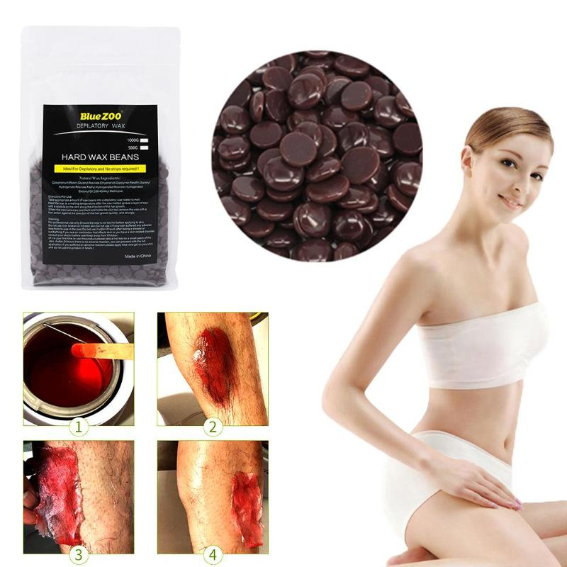 500g Painless <font><b>Depilatory</b></font> Pearl <font><b>Hard</b></font> <font><b>Wax</b></font> <font><b>Beans</b></font> Brazilian Granules Hot Film <font><b>Wax</b></font> Bead <font><b>For</b></font> <font><b>Hair</b></font> <font><b>Removal</b></font> Waxing Bikini
