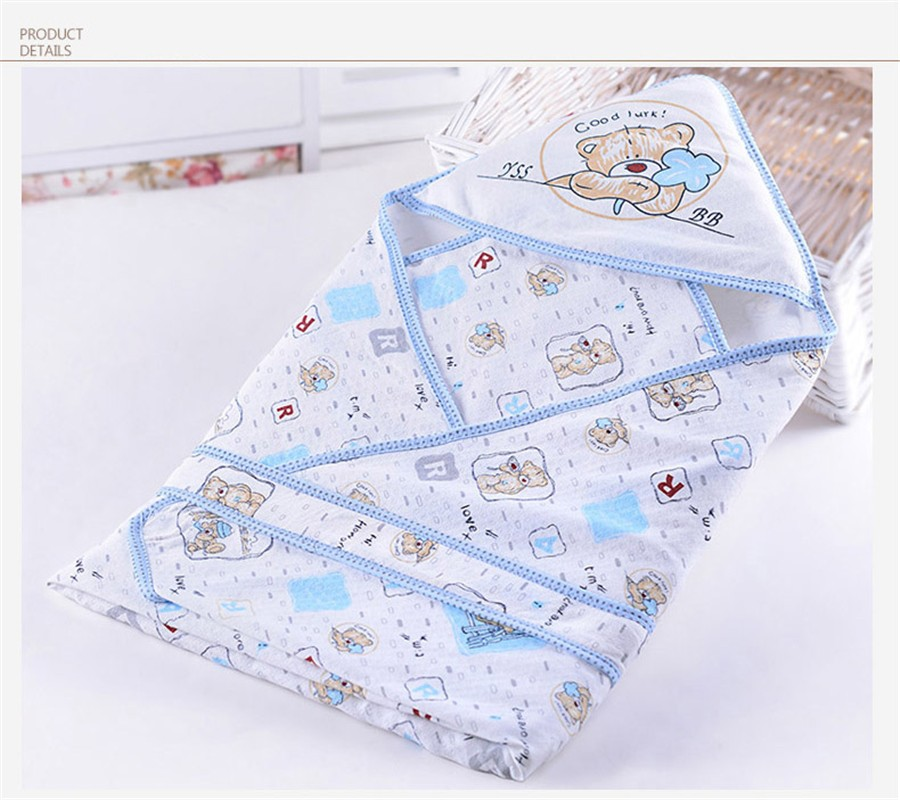 Baby Wrapped Blanket Warm Care (14)