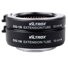 Viltrox DG-1N Camera Macro Extension Tube 10mm+16mm Adapter Set for Nikon 1 mount Lens J1 J2 V1 Free Shipping