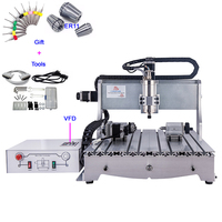 2.2KW 4 Axis CNC Engraving Machine 6040 2200W CNC Router Metal Cutting Milling Machine